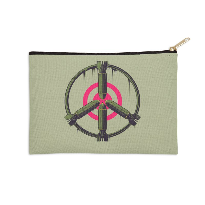 war is peace Accessories Zip Pouch by martinskowsky