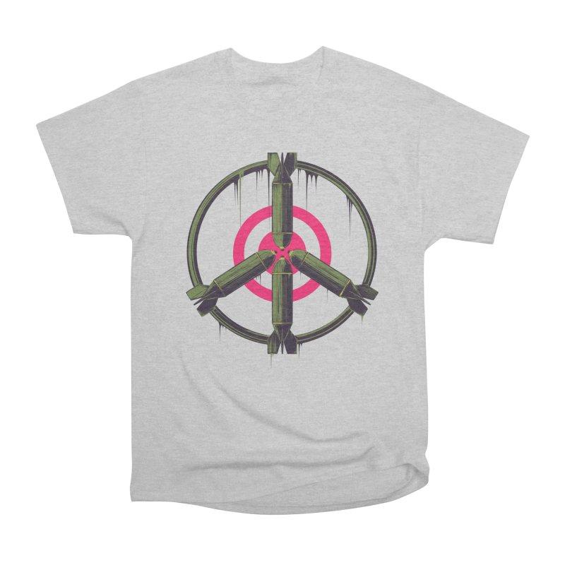 war is peace Men's Heavyweight T-Shirt by martinskowsky