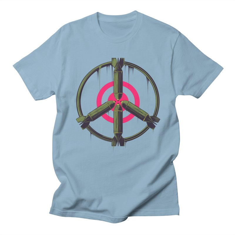 war is peace Women's Regular Unisex T-Shirt by martinskowsky