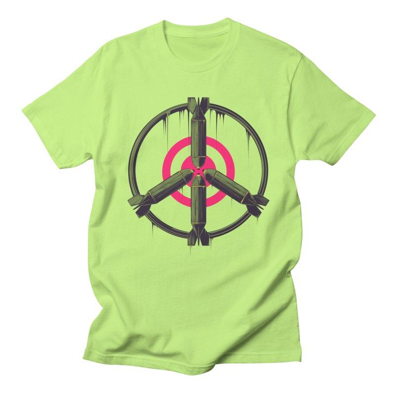 war is peace Men's Regular T-Shirt by martinskowsky