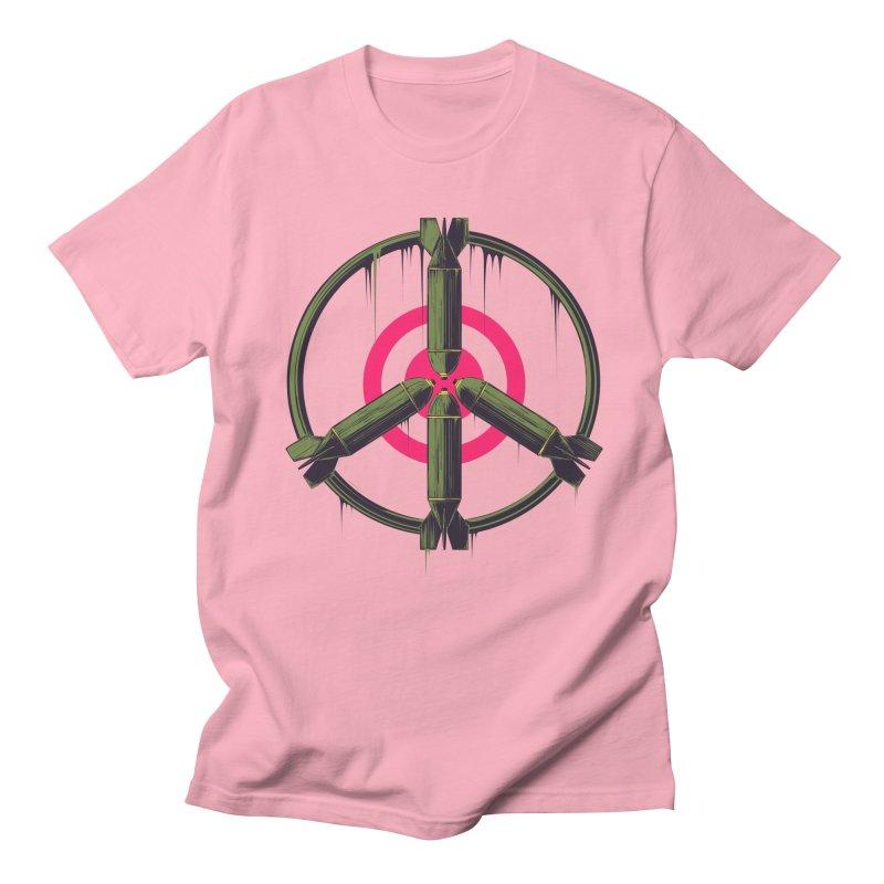 war is peace Women's Regular Unisex T-Shirt by martinskowsky
