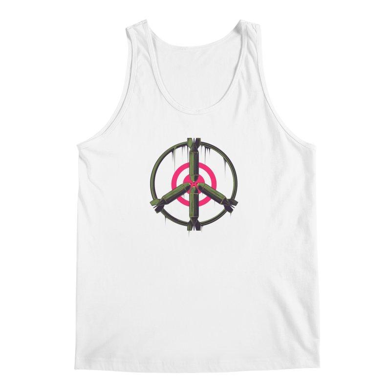 war is peace Men's Tank by martinskowsky