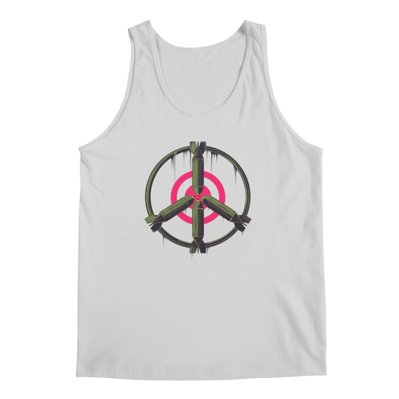war is peace Men's Regular Tank by martinskowsky
