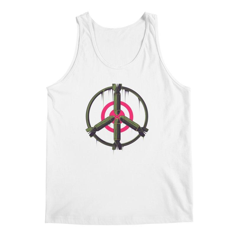 war is peace Men's Regular Tank by martinskowsky