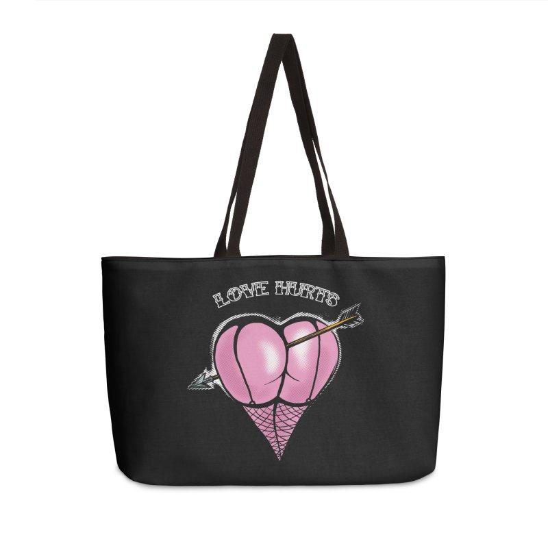 Love hurts Accessories Weekender Bag Bag by martinskowsky