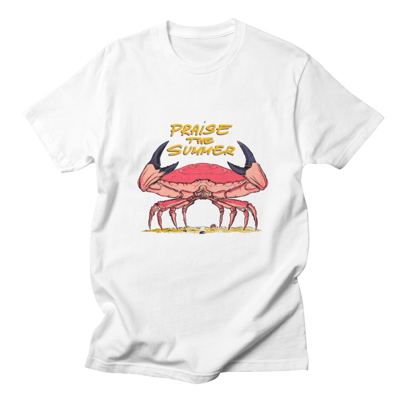 praise the summer Men's Regular T-Shirt by martinskowsky