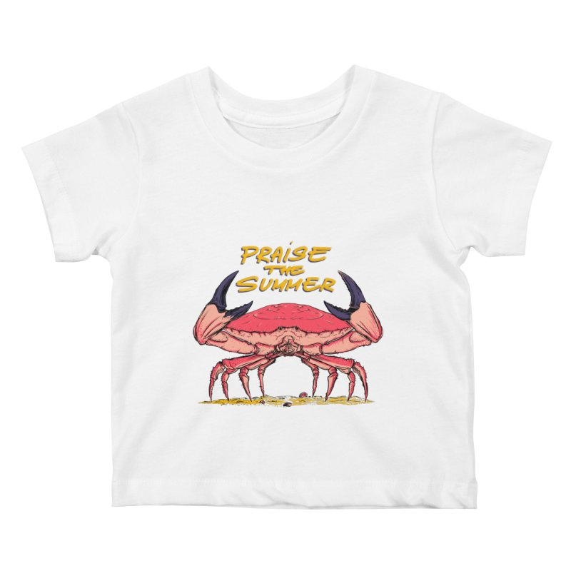 praise the summer Kids Baby T-Shirt by martinskowsky