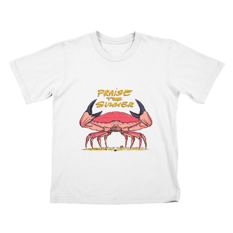 praise the summer Kids T-Shirt by martinskowsky