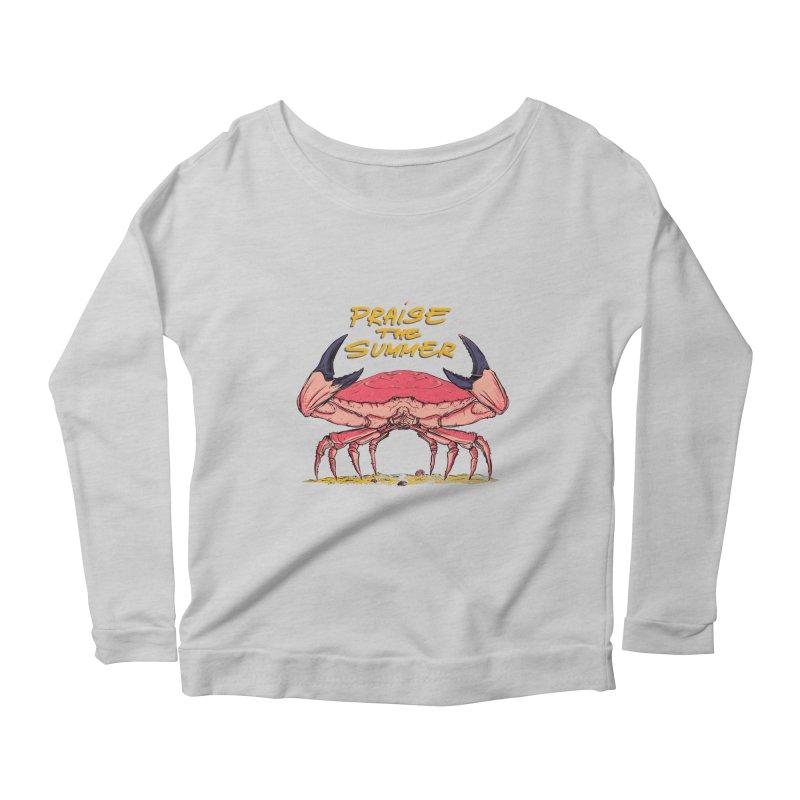 praise the summer Women's Scoop Neck Longsleeve T-Shirt by martinskowsky