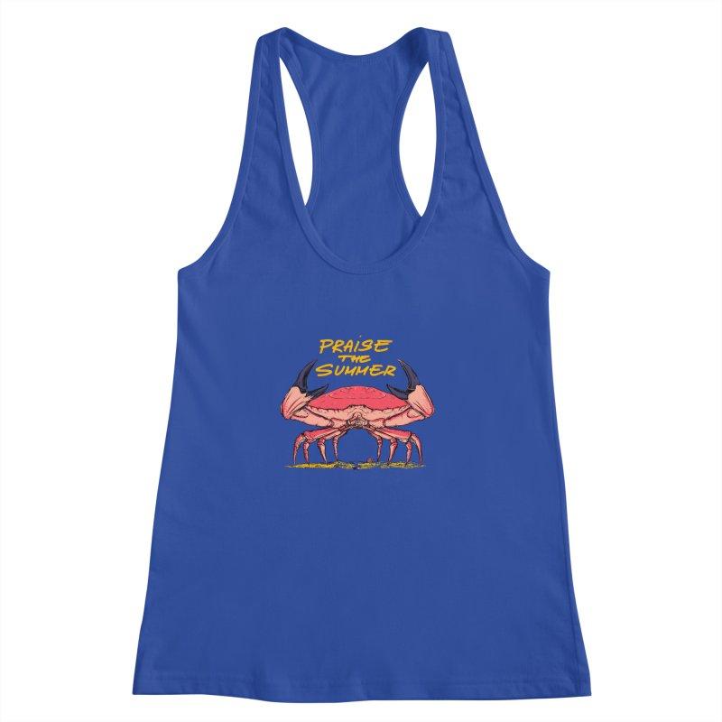 praise the summer Women's Racerback Tank by martinskowsky