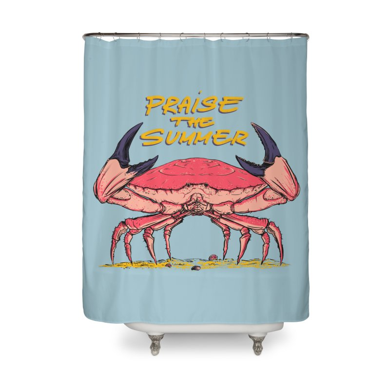 praise the summer Home Shower Curtain by martinskowsky