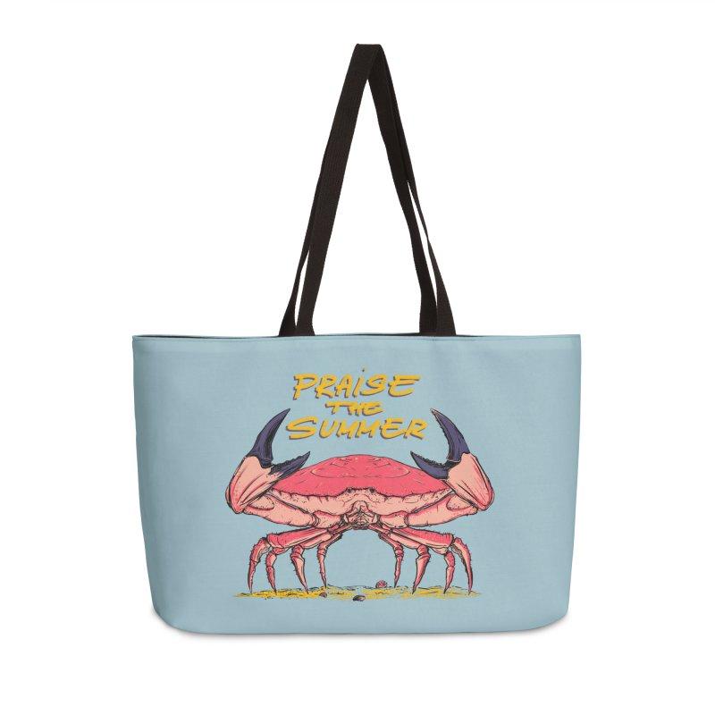 praise the summer Accessories Weekender Bag Bag by martinskowsky