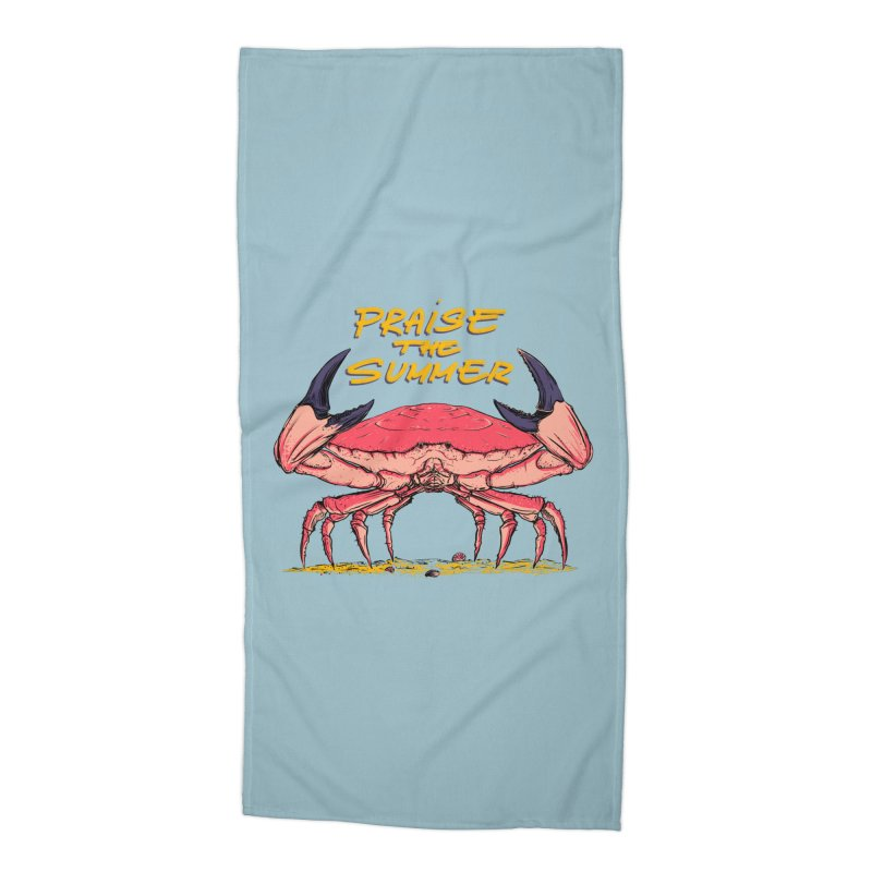 praise the summer Accessories Beach Towel by martinskowsky
