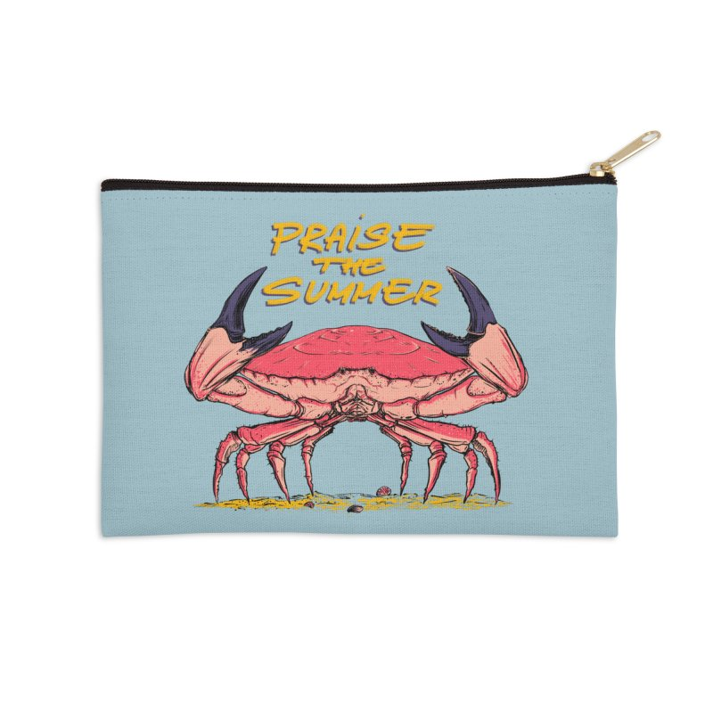 praise the summer Accessories Zip Pouch by martinskowsky