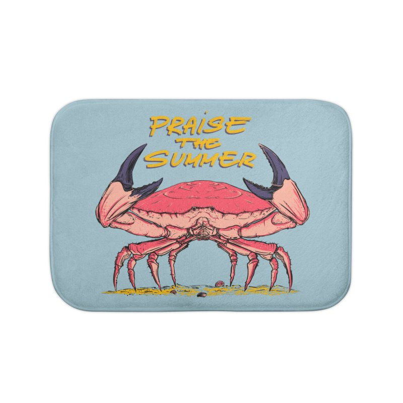 praise the summer Home Bath Mat by martinskowsky
