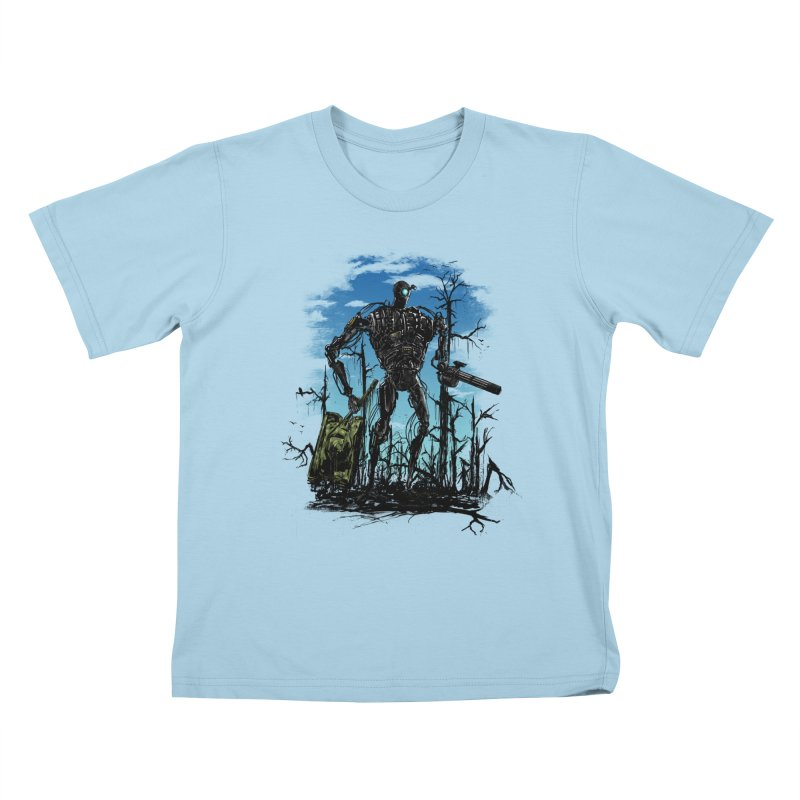 sector clear Kids T-Shirt by martinskowsky