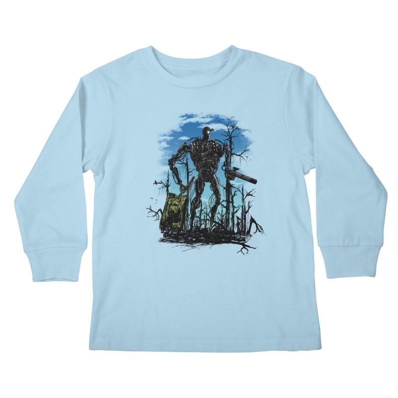 sector clear Kids Longsleeve T-Shirt by martinskowsky