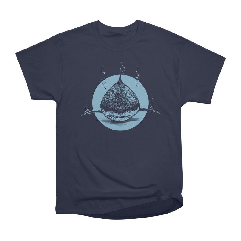 blind shark Men's Heavyweight T-Shirt by martinskowsky