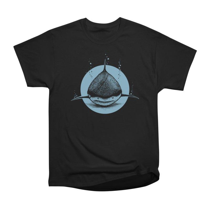 blind shark Women's Heavyweight Unisex T-Shirt by martinskowsky
