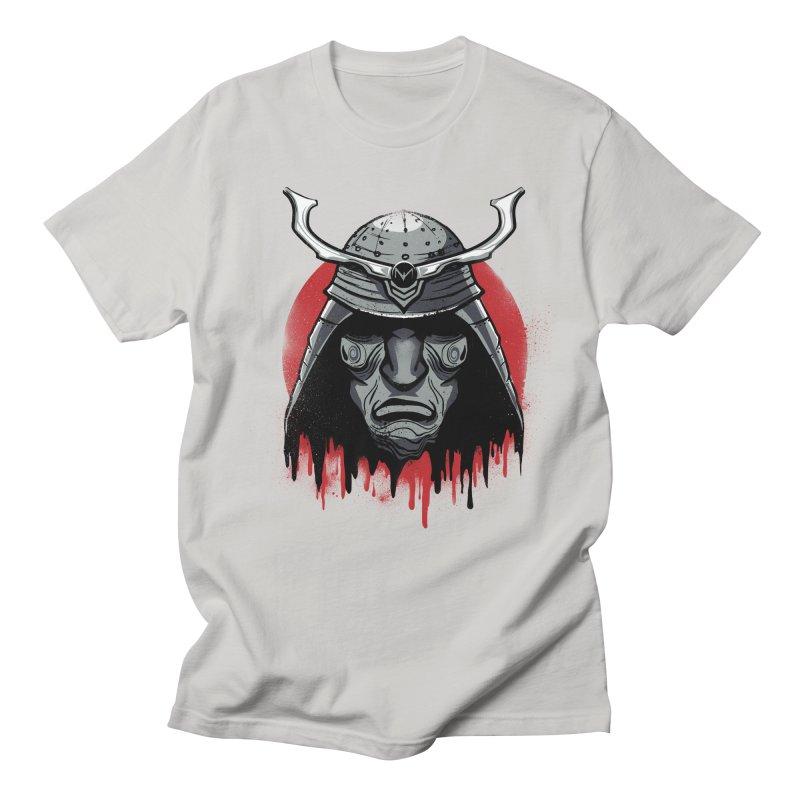 melting warrior Men's T-Shirt by martinskowsky