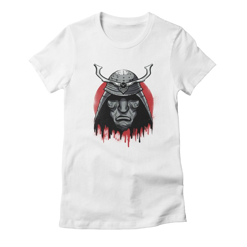 melting warrior Women's Fitted T-Shirt by martinskowsky