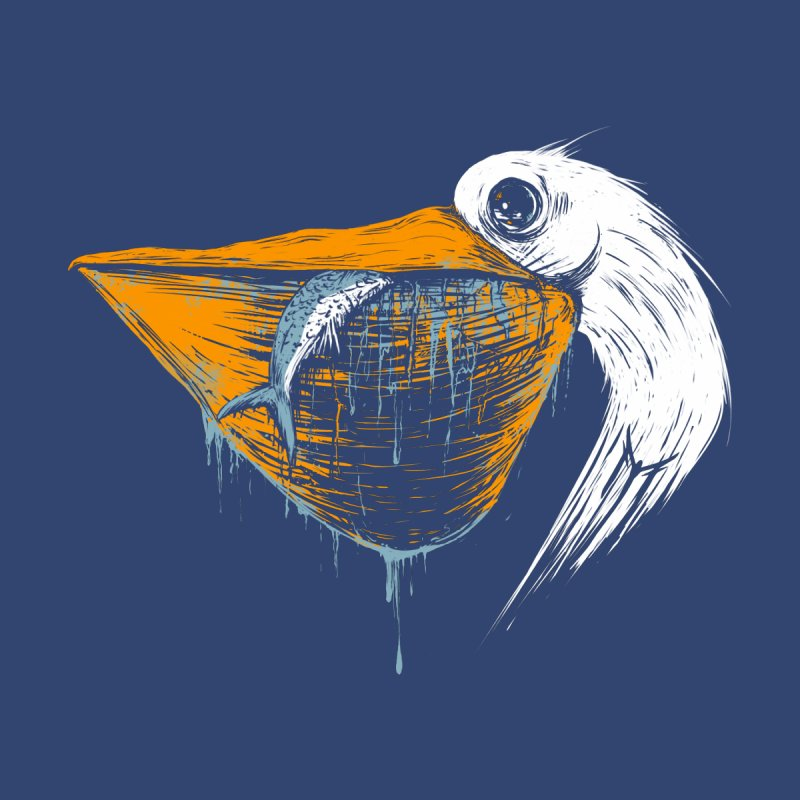 great white pelican Men's Tank by martinskowsky