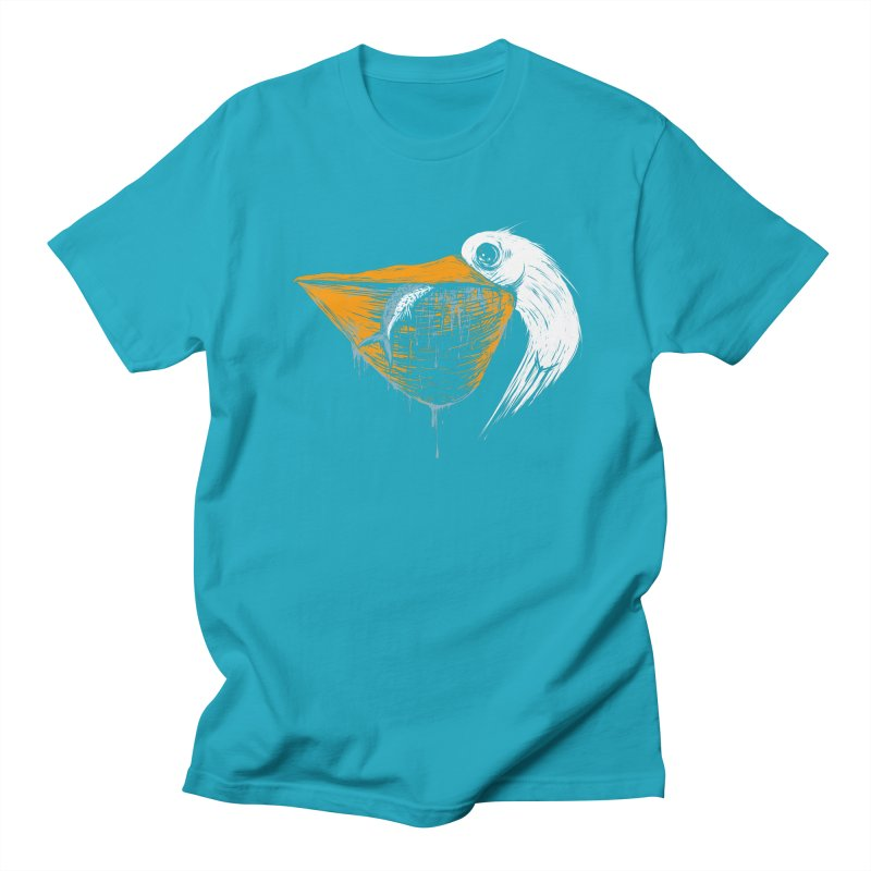 great white pelican Women's Regular Unisex T-Shirt by martinskowsky