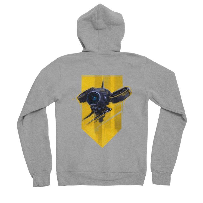 UAV Men's Sponge Fleece Zip-Up Hoody by martinskowsky