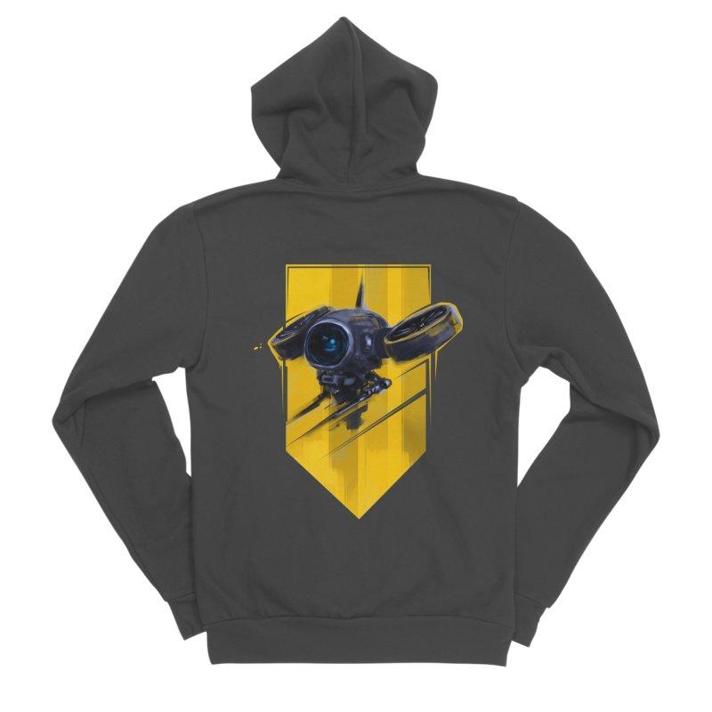UAV Women's Sponge Fleece Zip-Up Hoody by martinskowsky