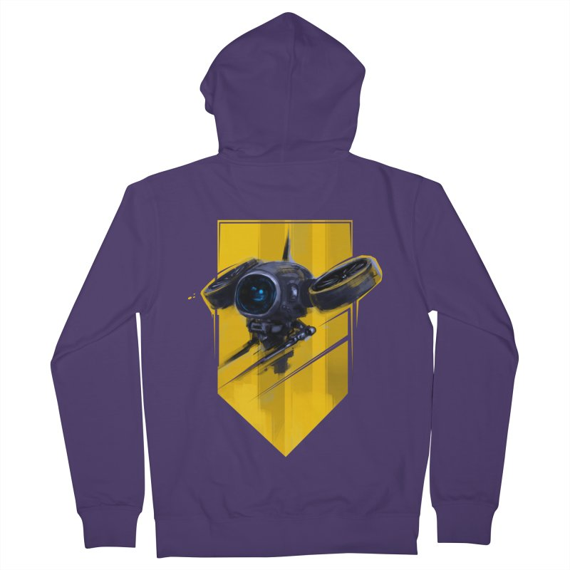 UAV Women's French Terry Zip-Up Hoody by martinskowsky