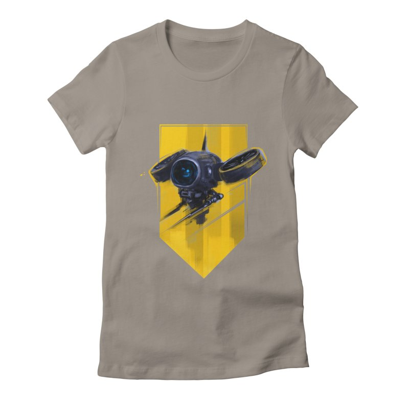 UAV Women's Fitted T-Shirt by martinskowsky