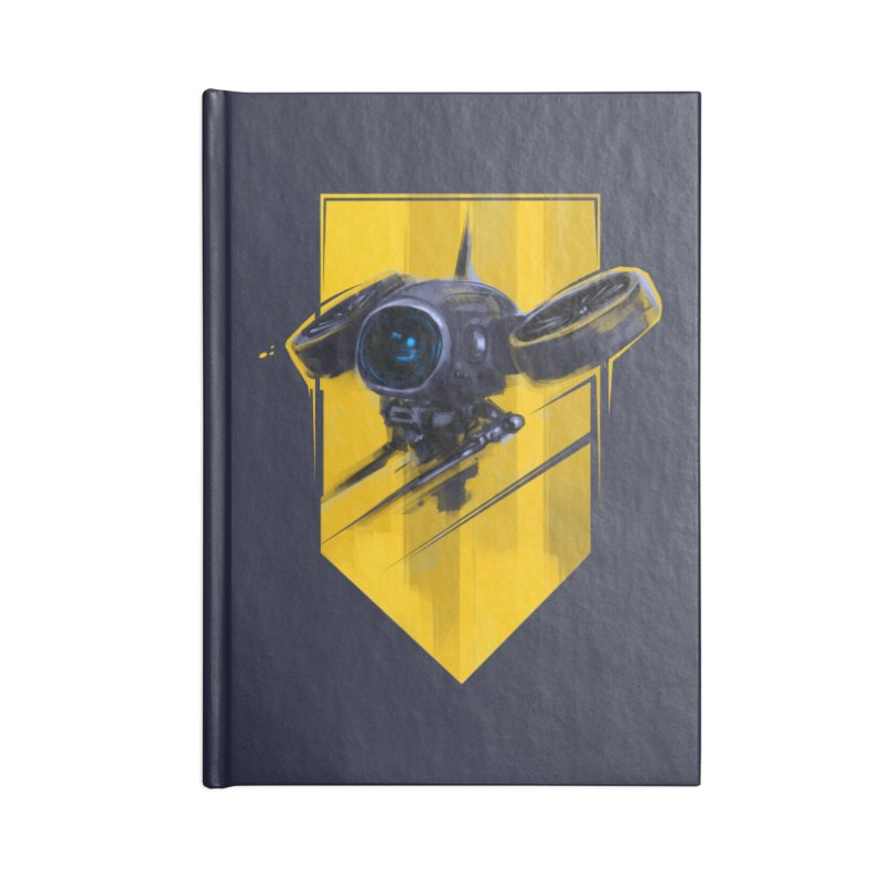 UAV Accessories Lined Journal Notebook by martinskowsky