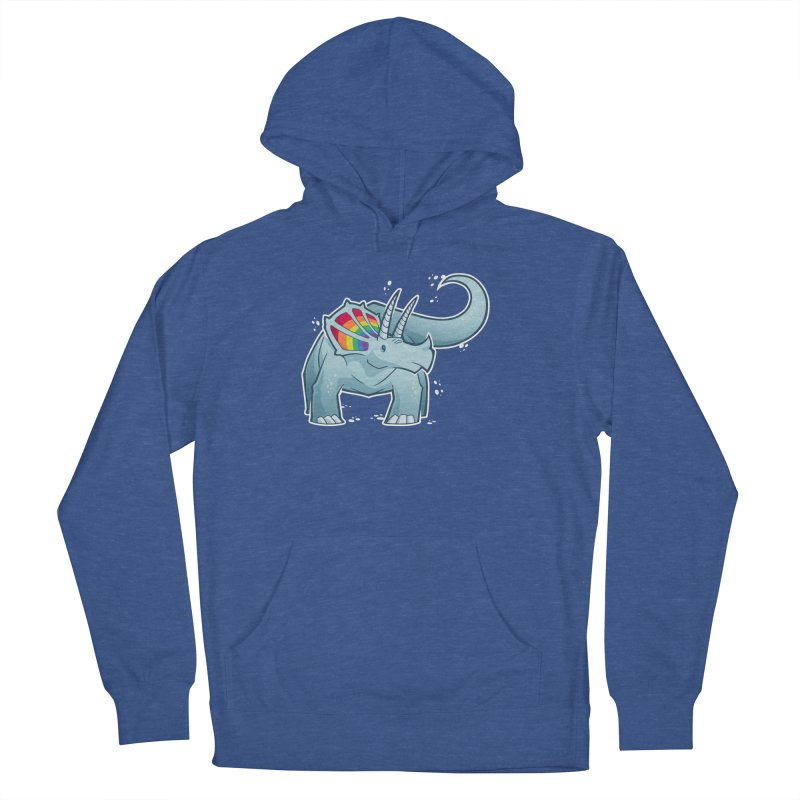 Prideceratops Women's French Terry Pullover Hoody by Marty's Artist Shop