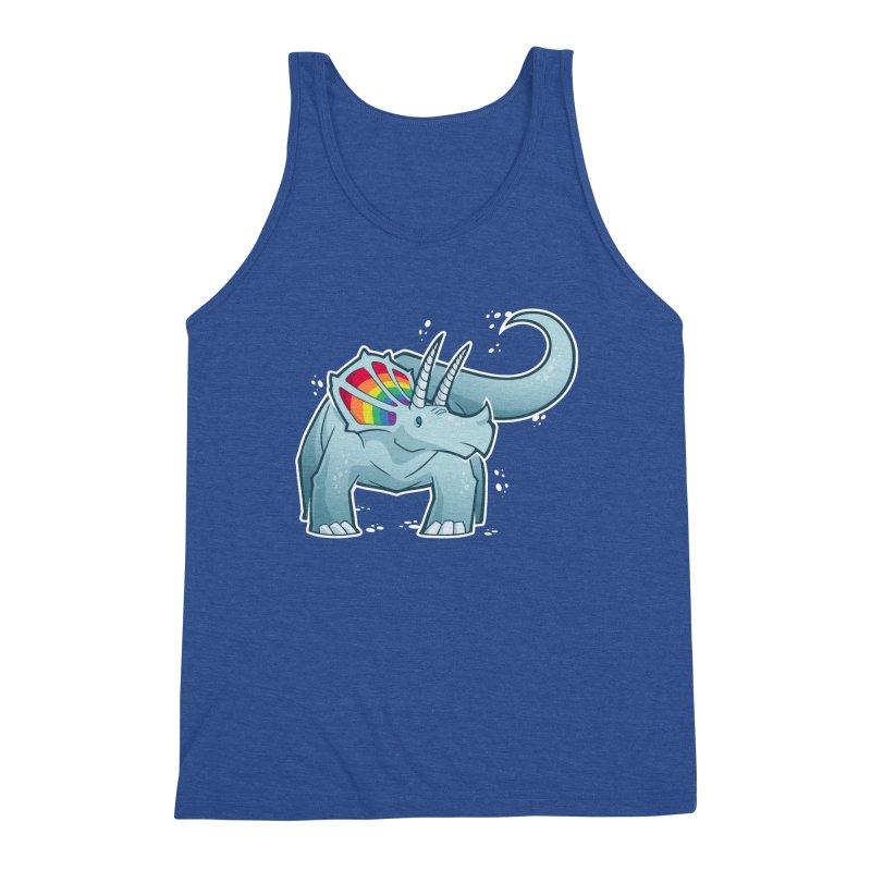 Prideceratops Men's Tank by Marty's Artist Shop