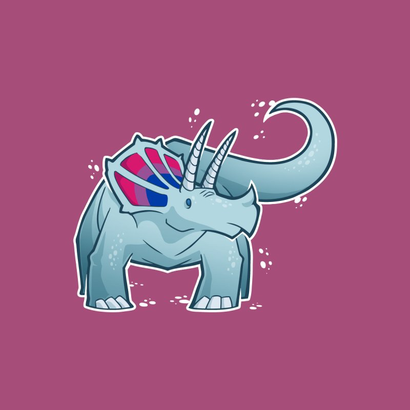 Biceratops Women's Tank by Marty's Artist Shop