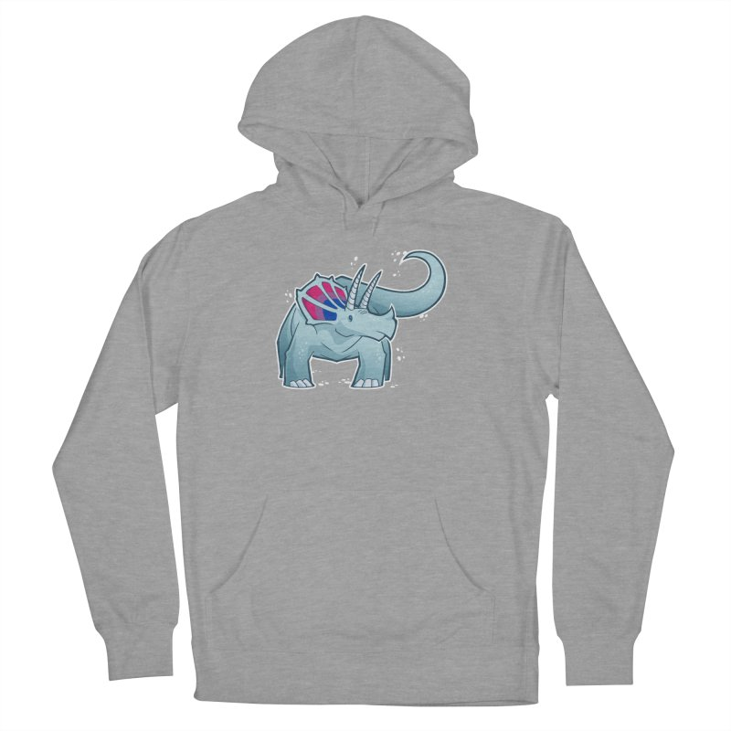 Biceratops Women's Pullover Hoody by Marty's Artist Shop