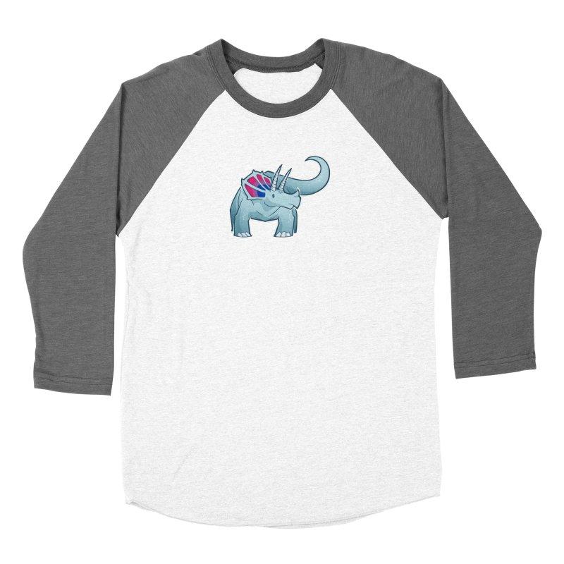 Biceratops Women's Longsleeve T-Shirt by Marty's Artist Shop