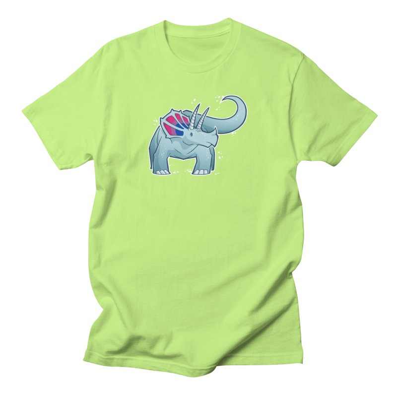 Biceratops Men's T-Shirt by Marty's Artist Shop