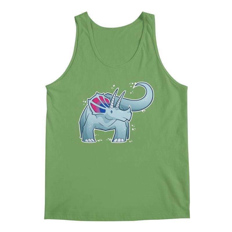 Biceratops Men's Tank by Marty's Artist Shop