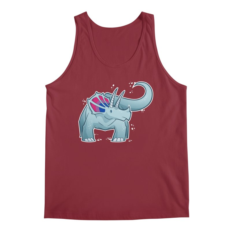 Biceratops Men's Tank by Marty's Artist Shop