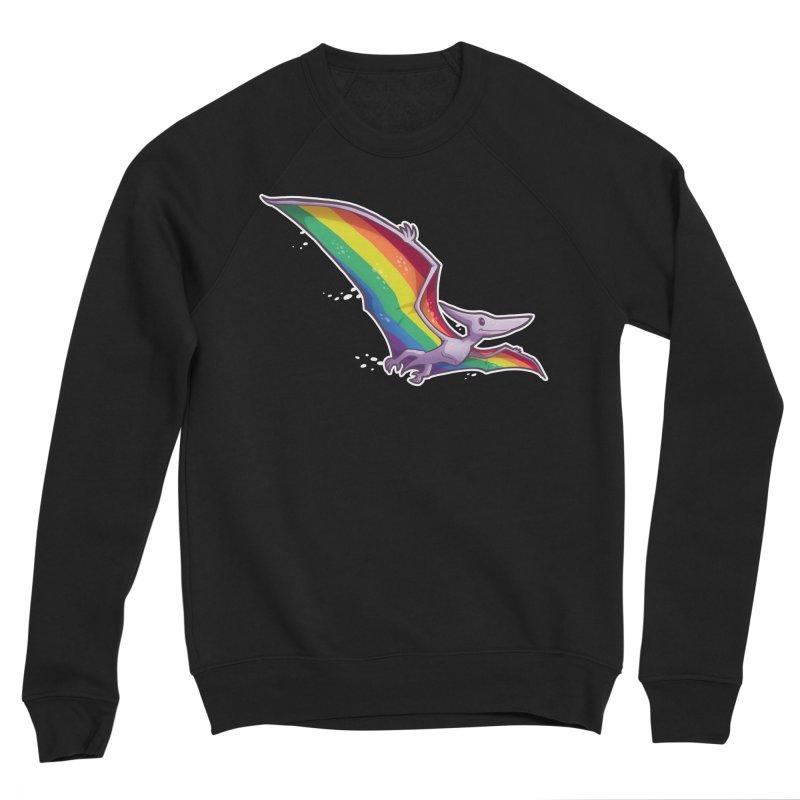 Pridactyl Men's Sponge Fleece Sweatshirt by Marty's Artist Shop