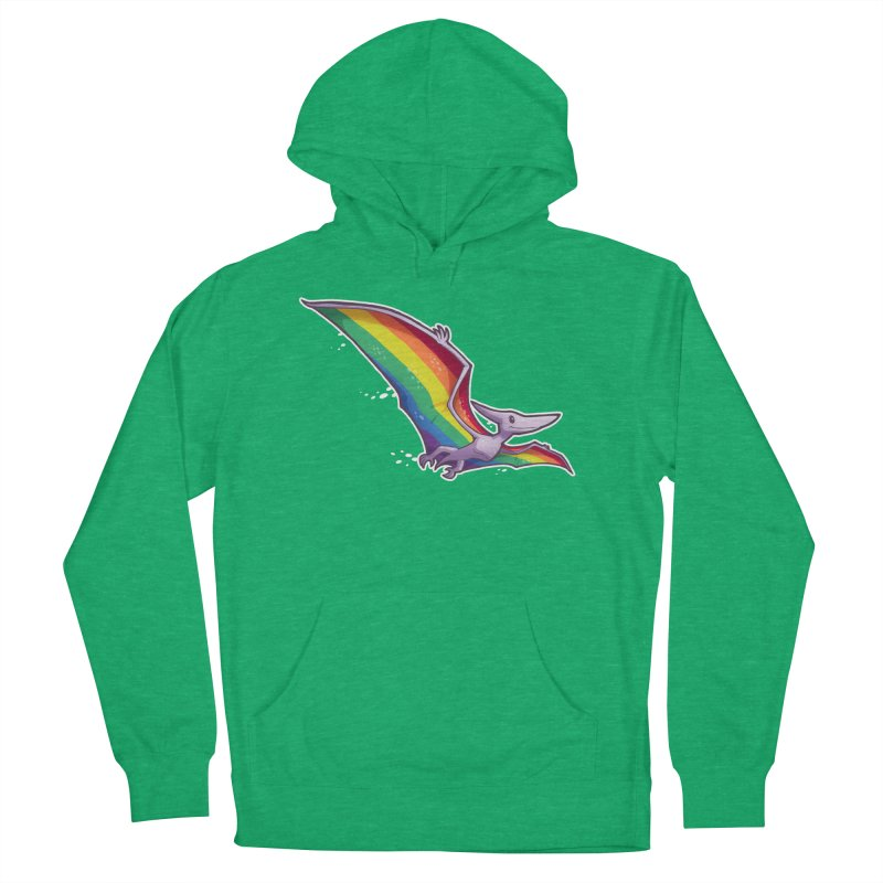 Pridactyl Men's French Terry Pullover Hoody by Marty's Artist Shop