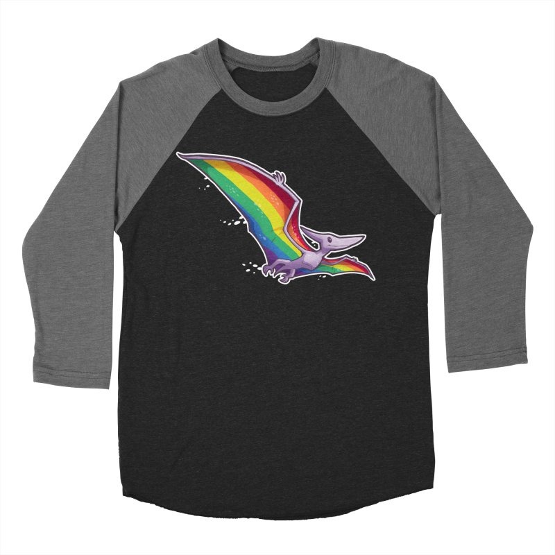 Pridactyl Men's Baseball Triblend Longsleeve T-Shirt by Marty's Artist Shop