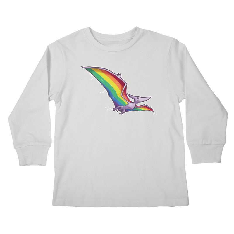 Pridactyl Kids Longsleeve T-Shirt by Marty's Artist Shop