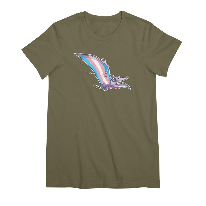 Transdactyl Women's Premium T-Shirt by Marty's Artist Shop