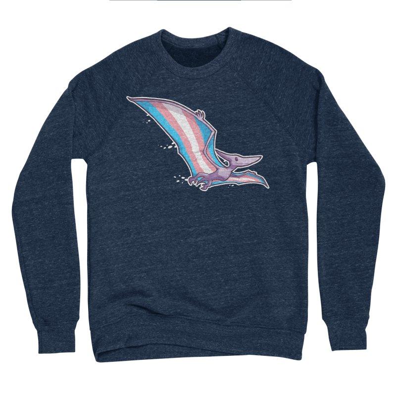 Transdactyl Men's Sponge Fleece Sweatshirt by Marty's Artist Shop