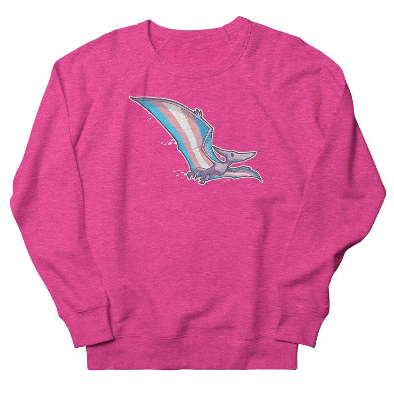 Transdactyl Women's French Terry Sweatshirt by Marty's Artist Shop