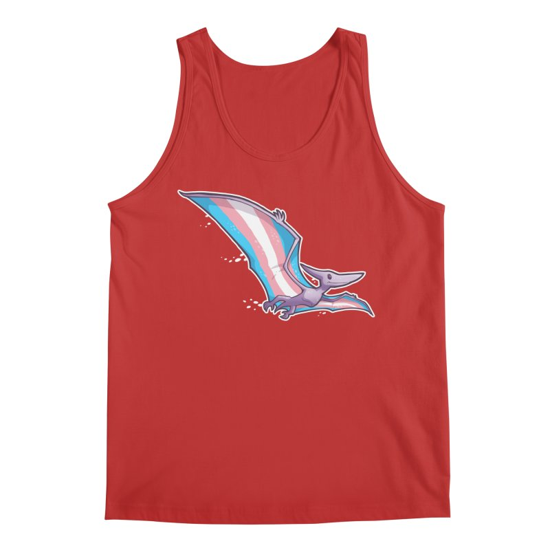 Transdactyl Men's Regular Tank by Marty's Artist Shop