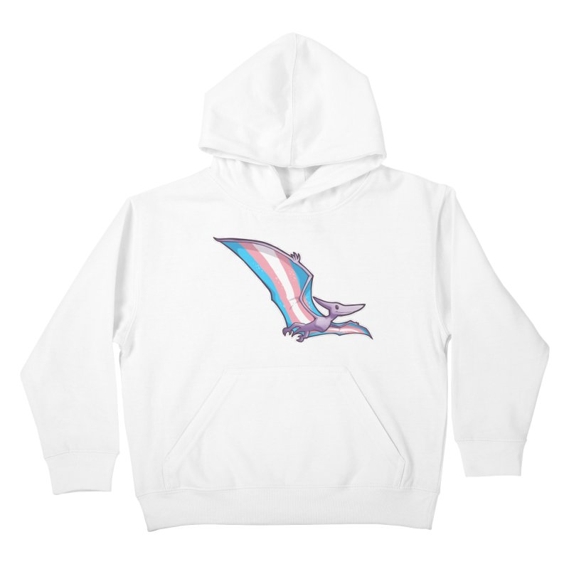 Transdactyl Kids Pullover Hoody by Marty's Artist Shop