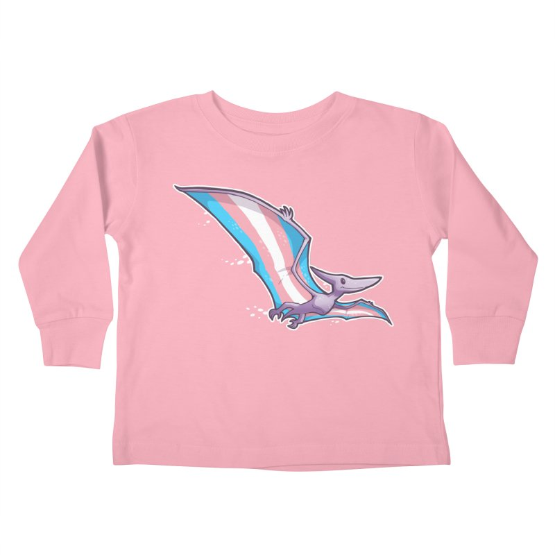 Transdactyl Kids Toddler Longsleeve T-Shirt by Marty's Artist Shop